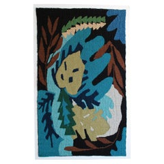 Leaf Study II Woven Tapestry Wall Hanging Artwork