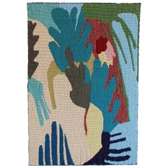 Leaf Study Woven Tapestry Wall Hanging Artwork