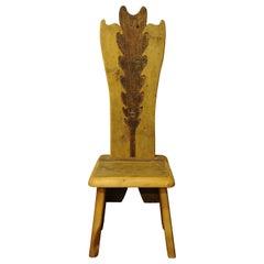 Leaf Throne Chair