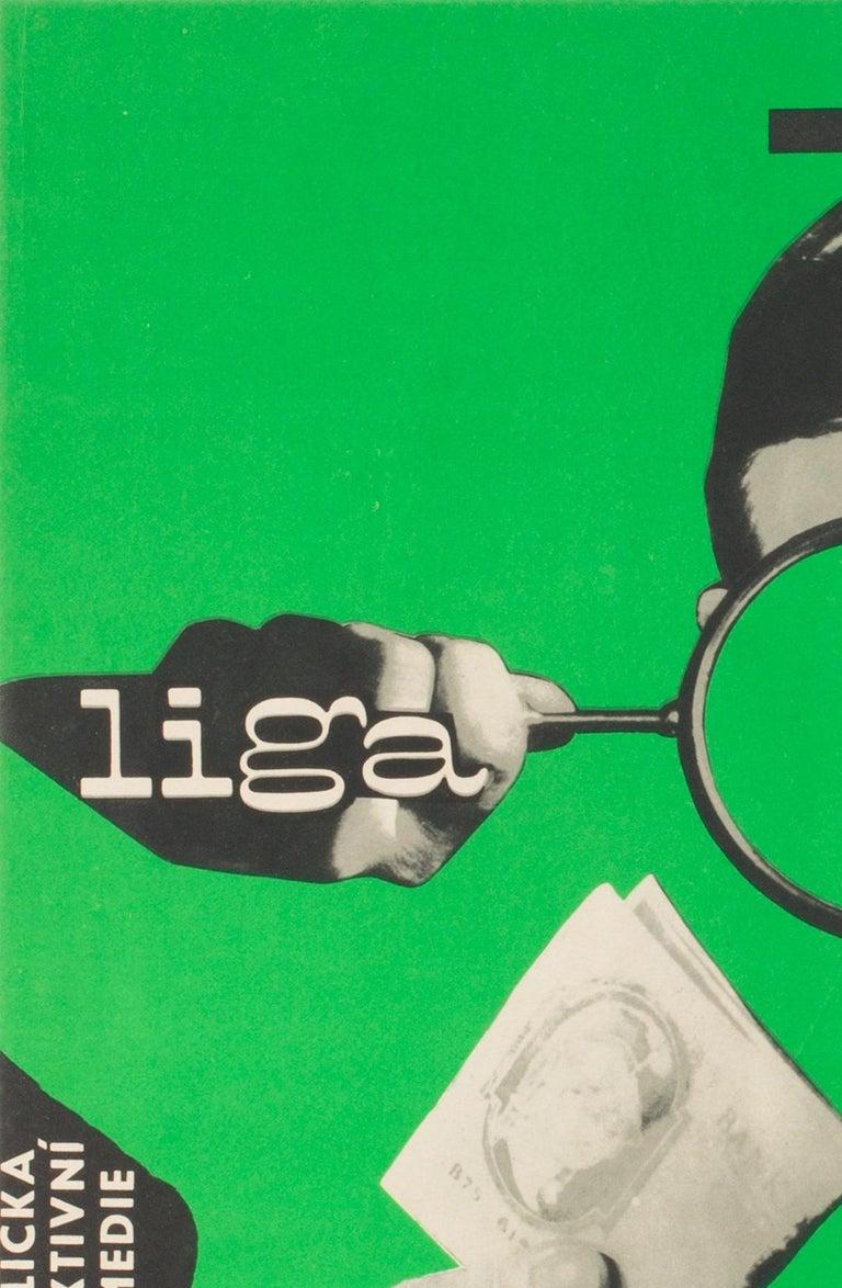 League of Gentlemen Original Czech Film Poster Milan Grygar, 1964 In Excellent Condition For Sale In Bath, Somerset