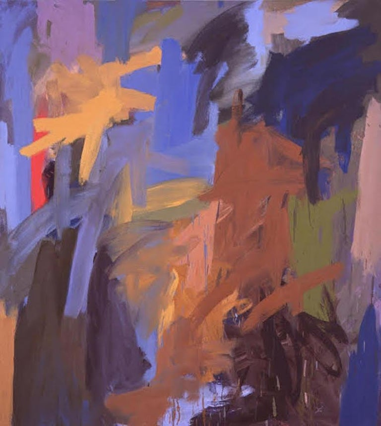 Leah Durner Abstract Painting - Grove