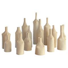 Leah Kaplan Collection of Porcelain Bottles, 2018-2019