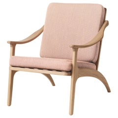 Lean Back Monochrome Lounge Chair in Oak, by Arne Hovmand-Olsen from Warm Nordic