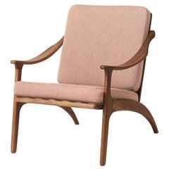 Lean Back Monochrome Lounge Chair in Teak, by Arne Hovmand-Olsen from Warm