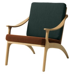 Lean Back Two-Tone Lounge Chair in Oak, by Arne Hovmand-Olsen from Warm Nordic
