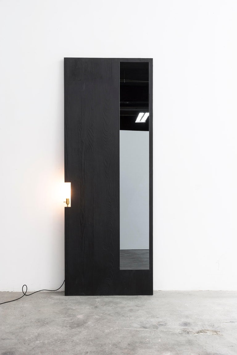 Contemporary CHAR Mirror For Sale