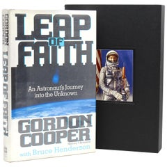 Leap of Faith An Astronaut's Journey into the Unknown by Gordon Cooper, Signed