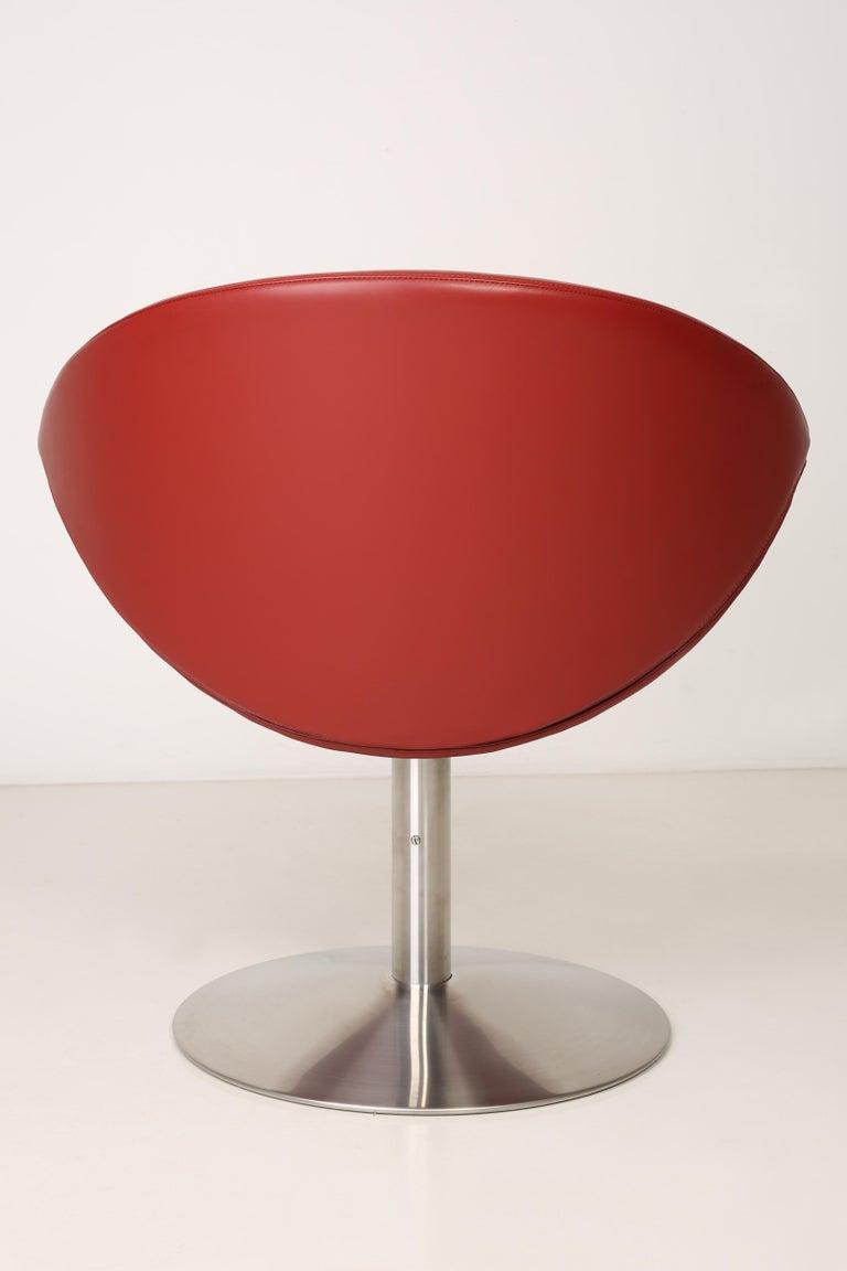 Leather Apollo Chair, Erik Jørgensen, 2000s, Denmark For Sale 2