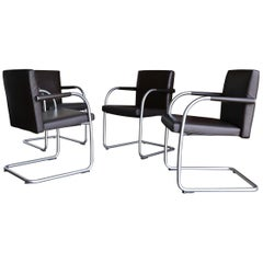 Leather Armchairs by Antonio Citterio & Glen Oliver Low for Vitra