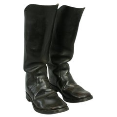 Leather Army Boots