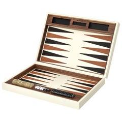 Leather Backgammon Set
