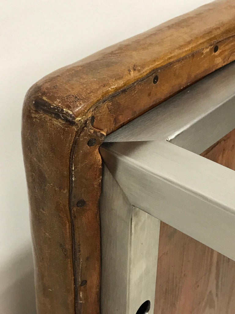 Leather Bench, '1930' For Sale 1