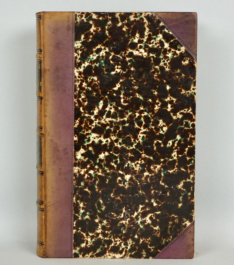 Mid-19th Century Leather Bound History of Consulate and Empire of France Under Napoleon Thiers For Sale