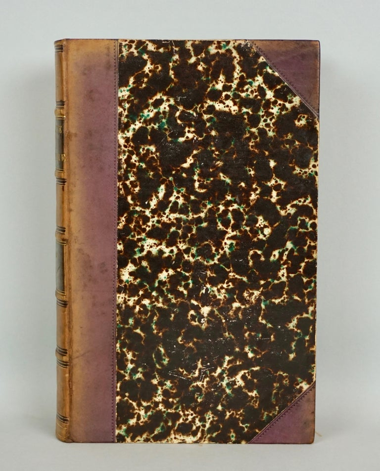 Leather Bound History of Consulate and Empire of France Under Napoleon Thiers For Sale 1