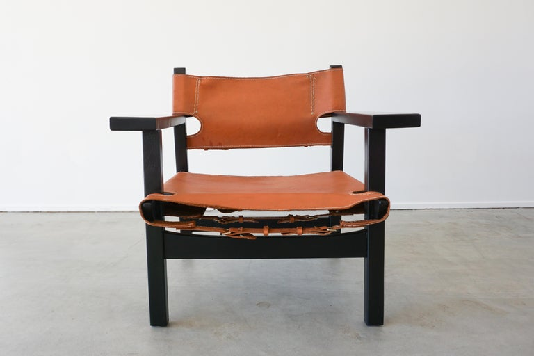 Leather Campaign Chairs For Sale 1