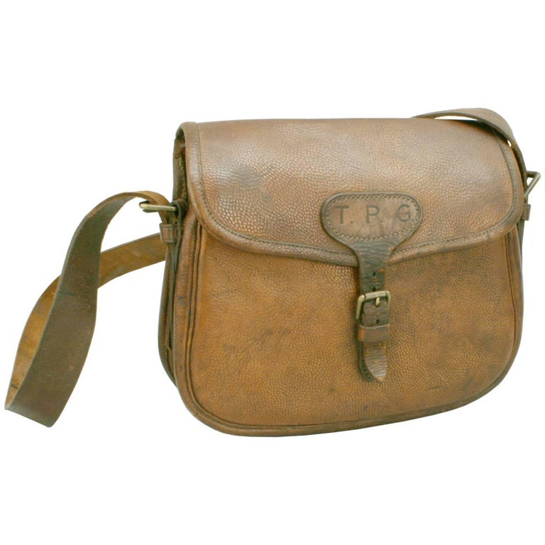 Leather Cartridge Bag For Sale at 1stdibs