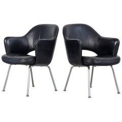 Leather Chairs, Gastone Rinaldi, Italy, 1960s