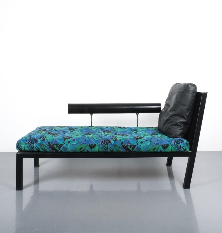 Leather Chaise Lounge Or Sofa Baisity by Antonio Citterio for B&B Italy For Sale 3