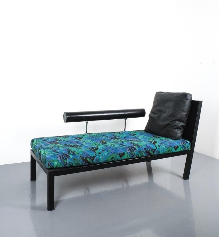 Leather Chaise Lounge Or Sofa Baisity by Antonio Citterio for B&B Italy For Sale 4