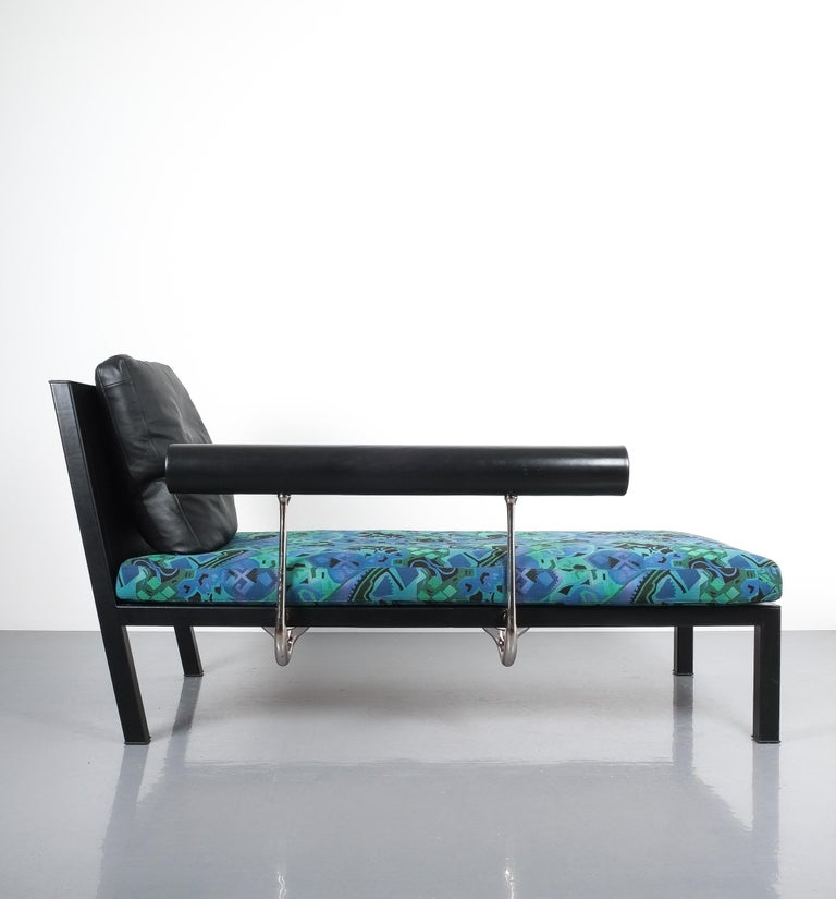 Post-Modern Leather Chaise Lounge Or Sofa Baisity by Antonio Citterio for B&B Italy For Sale