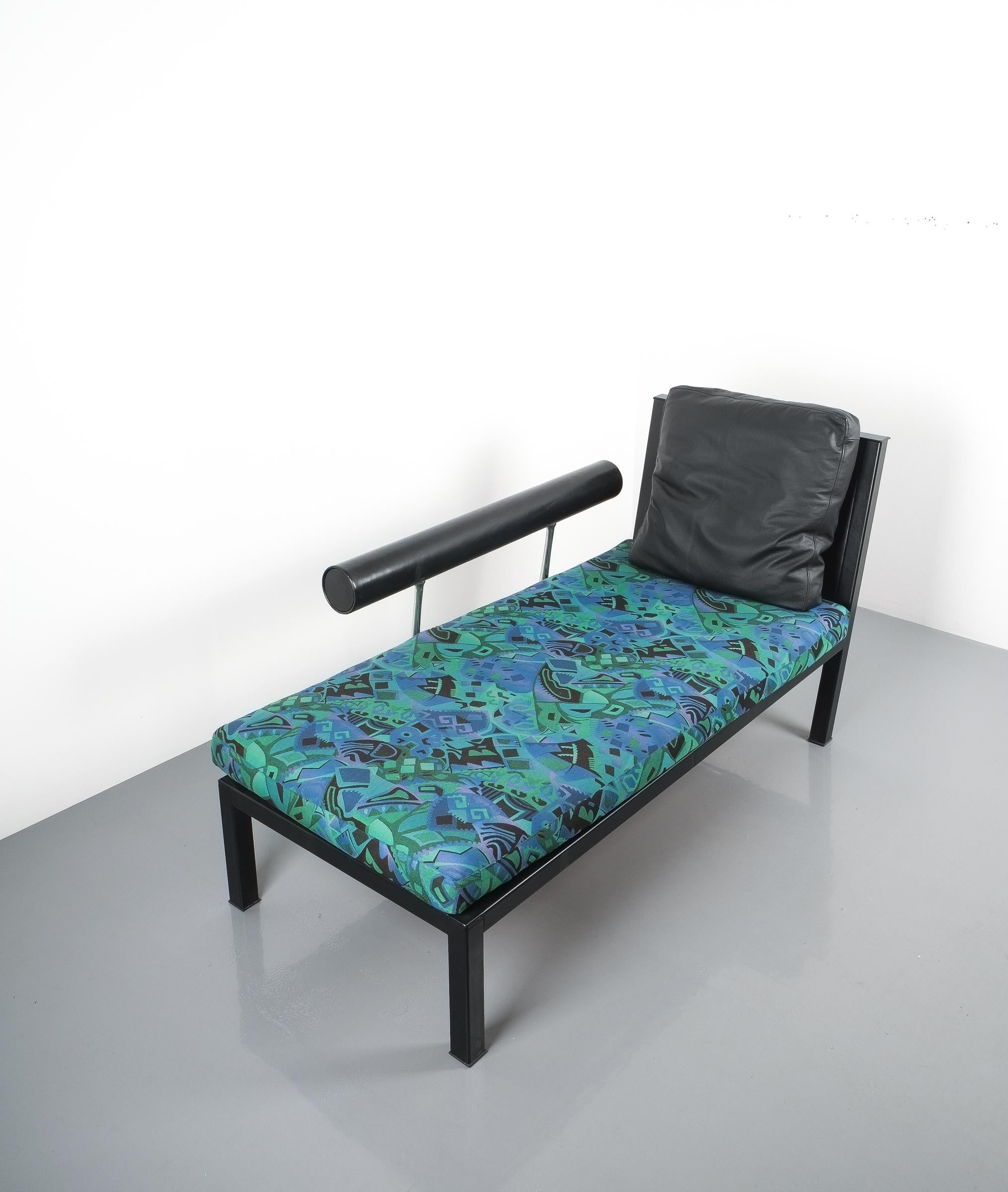 Leder Chaise Lounge Baisity von Antonio Citterio für B and B Italien ...