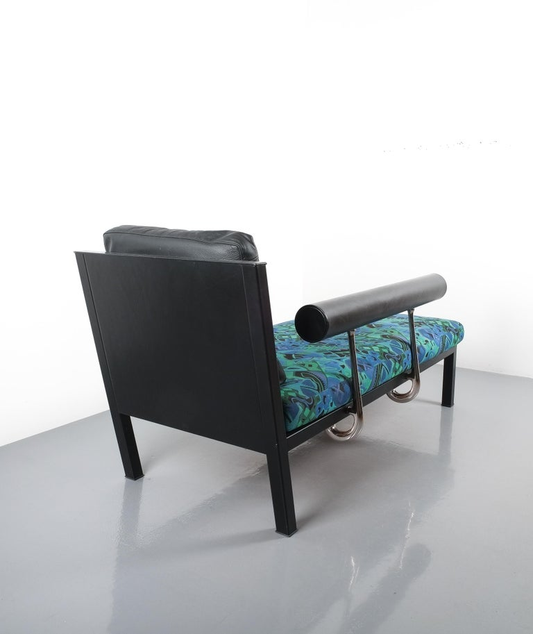 Leather Chaise Lounge Or Sofa Baisity by Antonio Citterio for B&B Italy In Good Condition For Sale In Vienna, AT