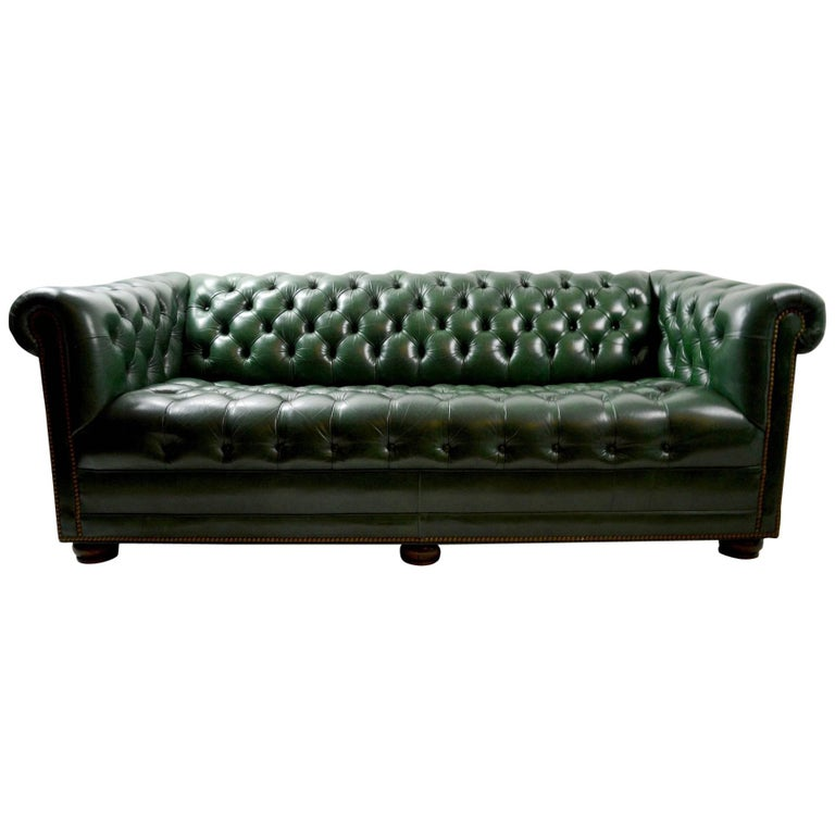 Hancock And Moore Tufted Leather Sofa: Leather Chesterfield Sofa By Hancock And Moore At 1stdibs
