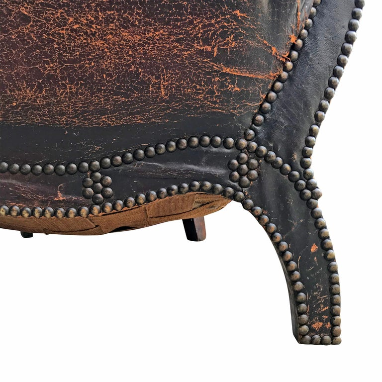 Leather Club Chair by Otto Schulz For Sale 3