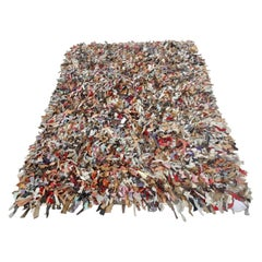 Leather Confetti Area Rug by Jack Lenor Larson