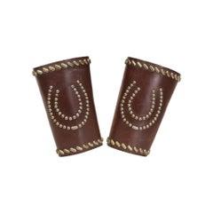 Leather Cowboy Cuffs