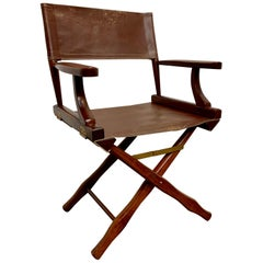 Leather Director Chair by M. Hayat & Bros Ltd