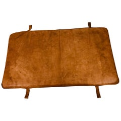Leather Gym Mattress Czech, 1930