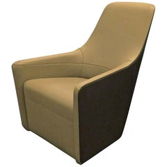 Walter Knoll Leather High Back Foster 520 Armchair