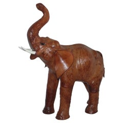 Leather Hollow Body Monumental Elephant