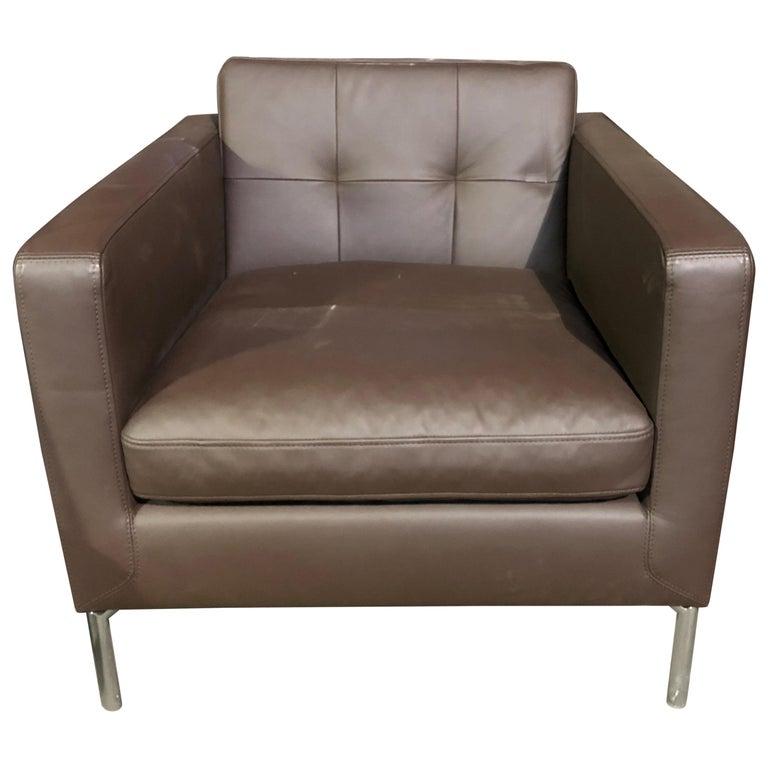Leather Lloyd Armchair 1