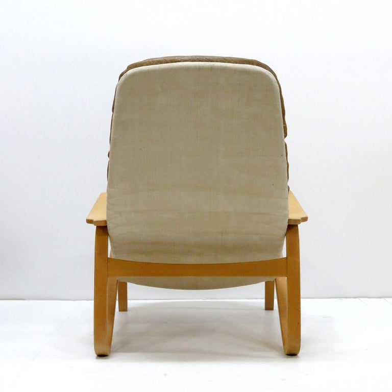 Leather Lounge Chair 'Metro' by Sam Larsson for DUX, 1970 For Sale 2