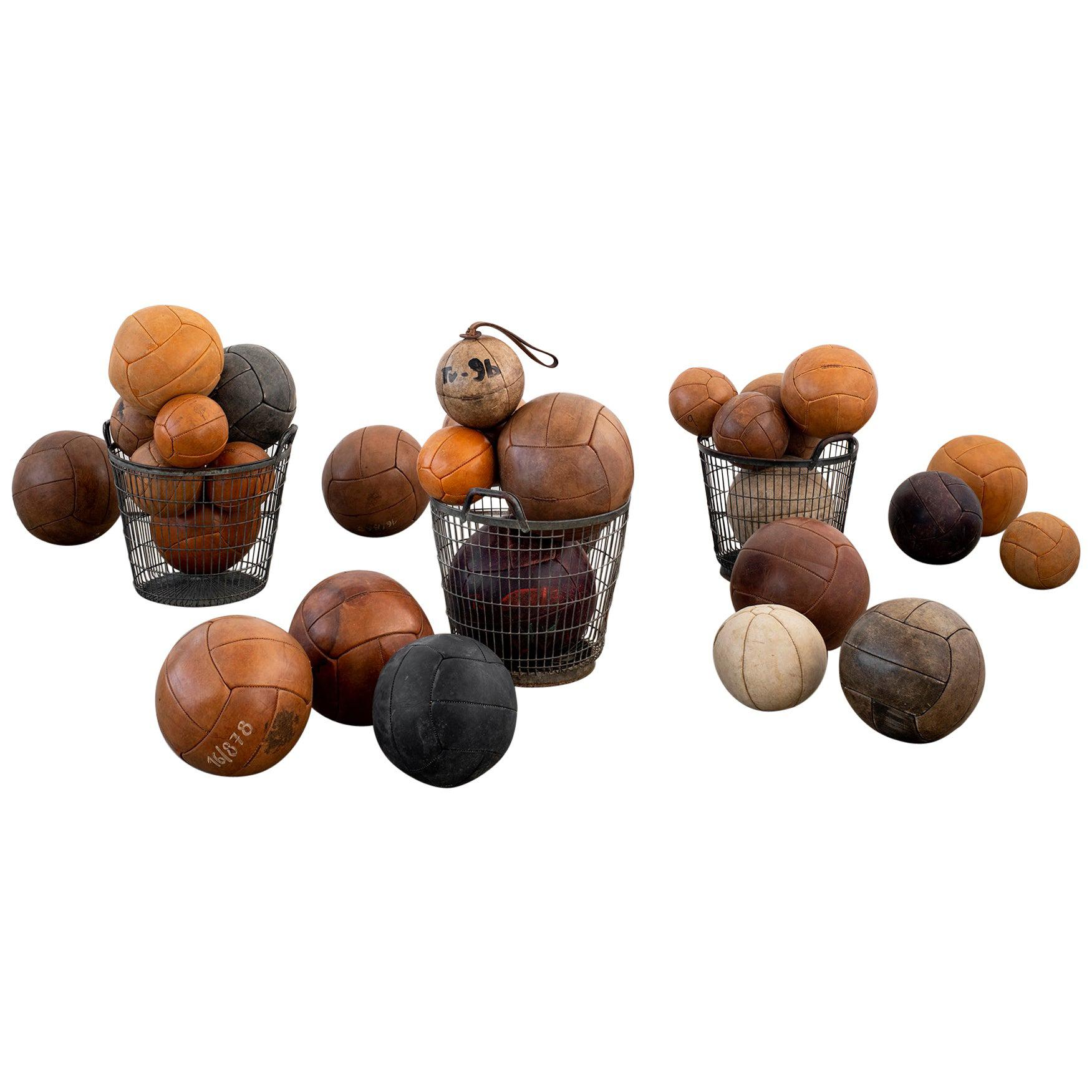 Leather Medicine Balls