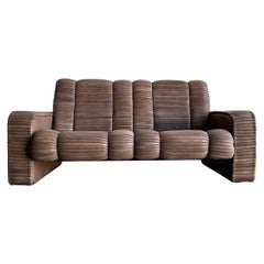 Leather Patchwork Sofa by Ernst Lüthy, Founder of De Sede, Switzerland, 1960's