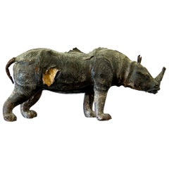 Leather Rhino Maquette