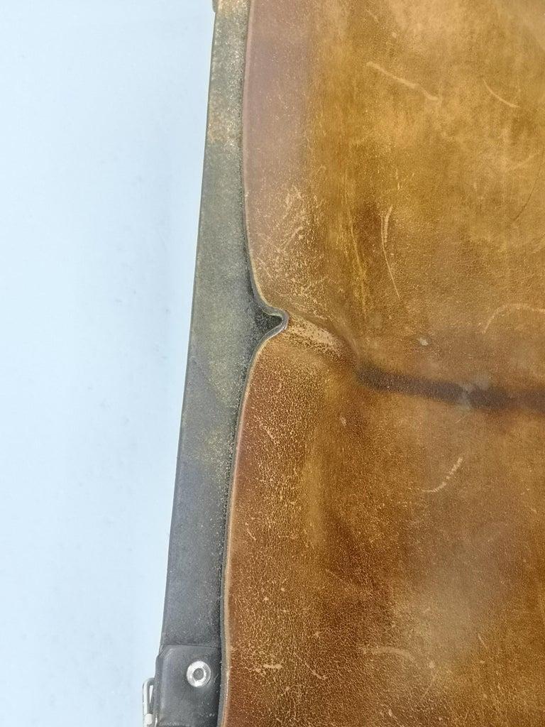 Leather Safari Armchair, 1970s For Sale 4