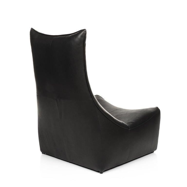 Modern Leather Sitting Set Rock Series Gerard Van Den Berg Montis For Sale