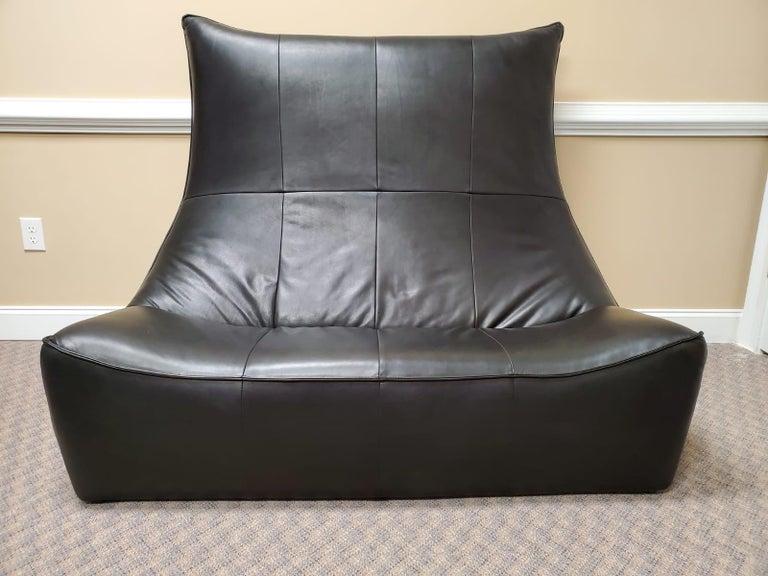 Leather Sitting Set Rock Series Gerard Van Den Berg Montis For Sale 1