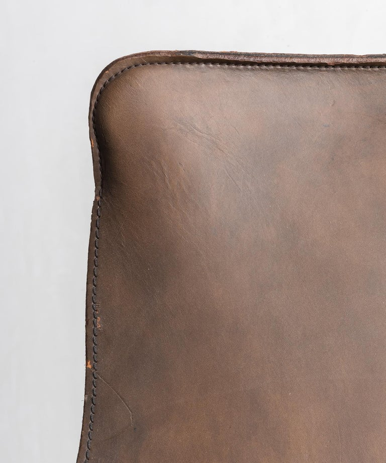 Mid-20th Century Leather Sling Chair by William Katavolos, Germany, circa 1950 For Sale