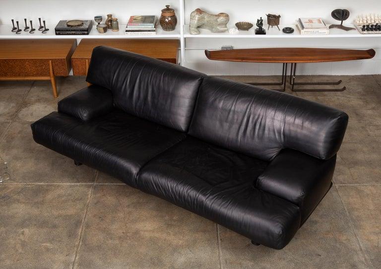 American Leather Sofa by Brayton International