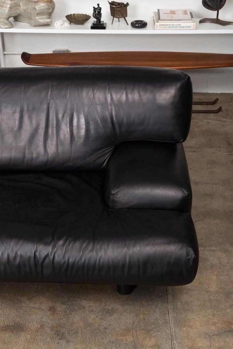 Late 20th Century Leather Sofa by Brayton International