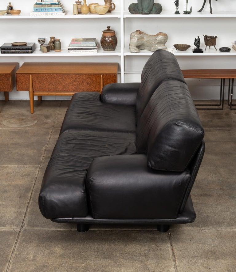 Leather Sofa by Brayton International 1