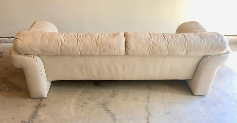 Leather Sofa by WK Möbel For Sale 3