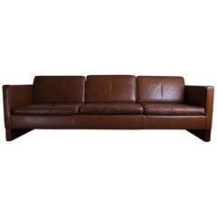 Leather Sofa Designed by Mies van der Rohe for Knoll