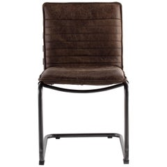 Leather Suspension Chair