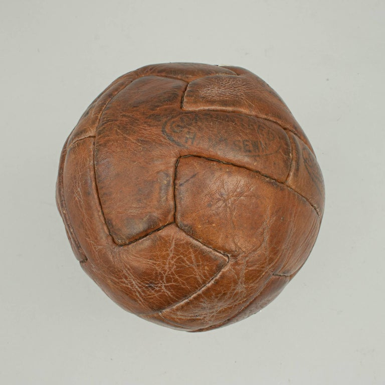 Leather T Pattern Miniature Football For Sale 1